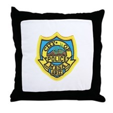 Mesa Police Throw Pillow