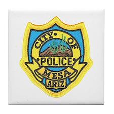 Mesa Police Tile Coaster