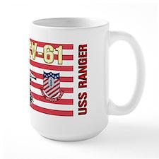 CV-61 USS Ranger Ceramic Mugs