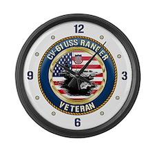 CV-61 USS Ranger Large Wall Clock