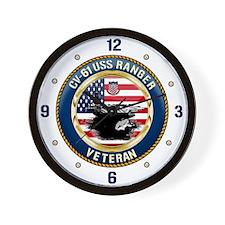 CV-61 USS Ranger Wall Clock