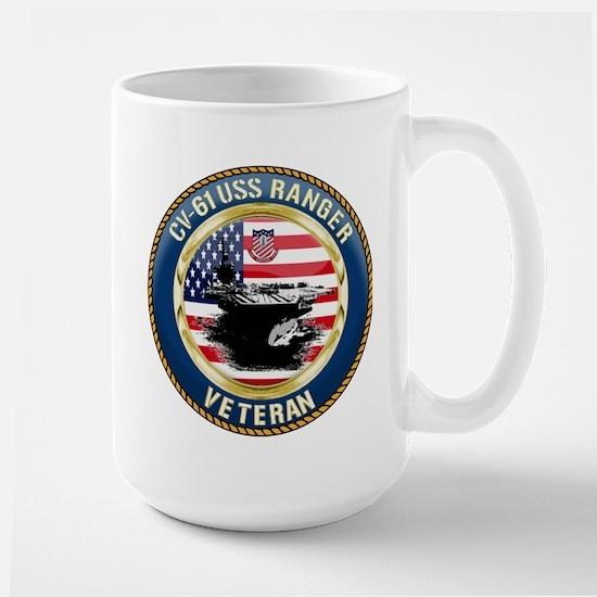 CV-61 USS Ranger Large Mug