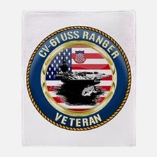 CV-61 USS Ranger Throw Blanket