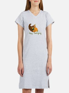 Happy Thanksgiving Women's Nightshirt
