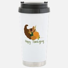 Happy Thanksgiving Travel Mug