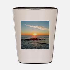 PEACEFUL SUNRISE Shot Glass