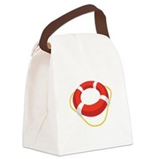 Life Ring Canvas Lunch Bag