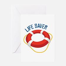 Life Saver Greeting Cards