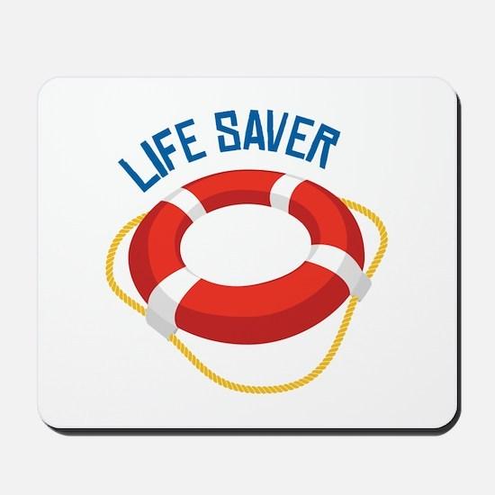Life Saver Mousepad
