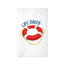 Life Saver 3'x5' Area Rug