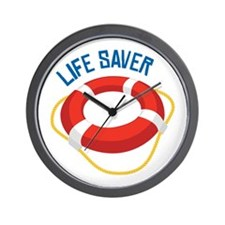 Life Saver Wall Clock