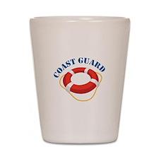 Coast Guard Shot Glass