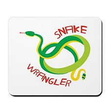 Snake Wrangler Mousepad
