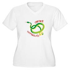 Snake Wrangler Plus Size T-Shirt