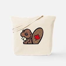 Canada Beaver Tote Bag