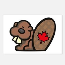 Canada Beaver Postcards (Package of 8)