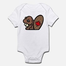 Canada Beaver Infant Bodysuit