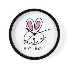 Hop Hop Wall Clock