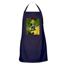 Renoir - A Girl with a Watering Can Apron (dark)