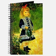 Renoir - A Girl with a Watering Can Journal