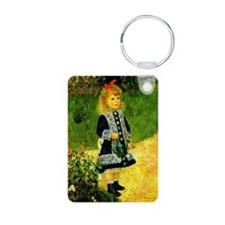 Renoir - A Girl with a Wat Keychains