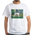 Bridge & Whippet White T-Shirt