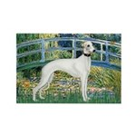 Bridge & Whippet Rectangle Magnet