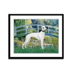 Bridge & Whippet Framed Panel Print