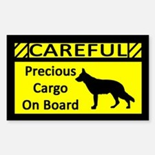 Precious Cargo German Shepherd Sticker (Rect)