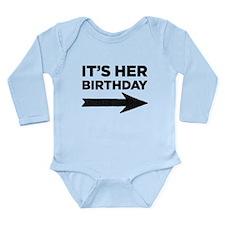 Unique Birthday boy 5th Long Sleeve Infant Bodysuit
