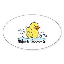 Natural Swimmer Decal