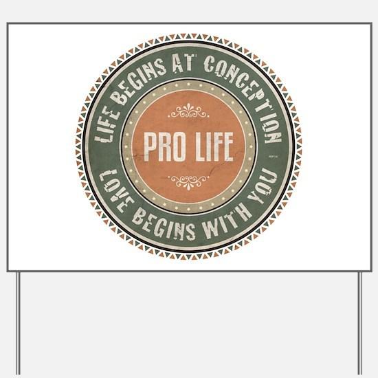 Backyard Abortion: Custom Yard & Lawn Signs - CafePress