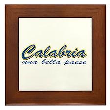 Calabria Framed Tile