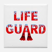 Life Guard Tile Coaster