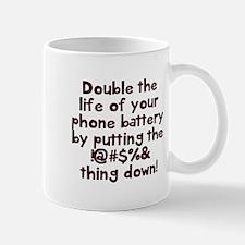 Phone battery Mugs