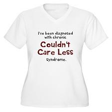 Couldnt Care Less Plus Size T-Shirt