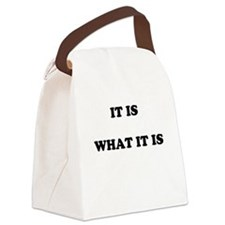 Cute Plain Canvas Lunch Bag
