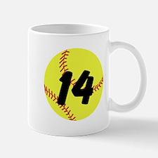 Custom Softball Mugs
