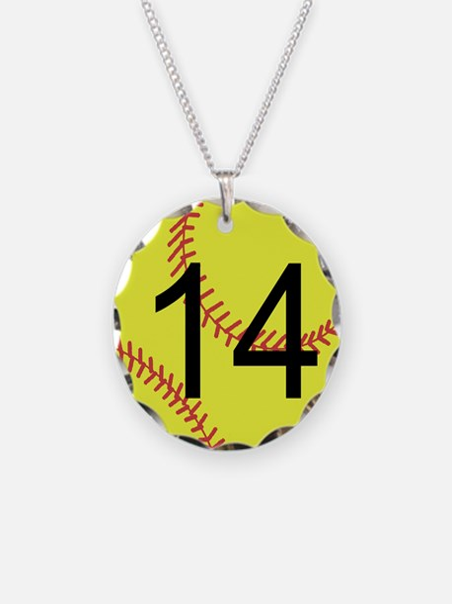 Custom Softball Necklace