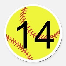 Softball Car Magnets Personalized Softball Magnetic Signs For - Custom car magnets australia