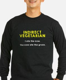 Indirect Vegetarian Long Sleeve T-Shirt