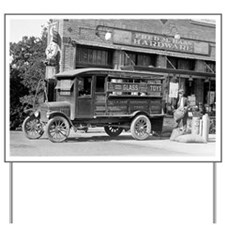 Hardware Store Delivery Truck, 1924 Yard Sign