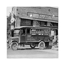 Hardware Store Delivery Truck, 1924 Queen Duvet
