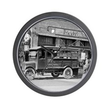 Hardware Store Delivery Truck, 1924 Wall Clock