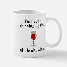Never drinking Mugs