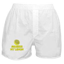 Squeeze My Lemon Boxer Shorts