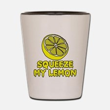 Squeeze My Lemon Shot Glass