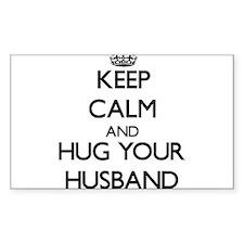 Keep Calm and Hug your Husband Decal