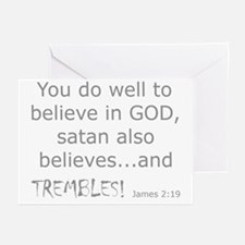 James 2:19 Greeting Cards (6)