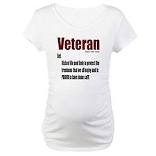 Veteran Definition Shirt